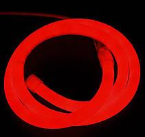 """Светодиодный гибкий неон PROLUM Круглый 2835\120 IP68 220V D15 -SERIES """"RN"""" PRO, Красный"""