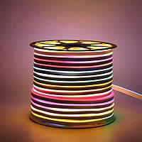 Светодиодный LED гибкий неон PROLUM 5050\60 IP68 24V RGB FULL COLOR IC1903, RGB (Pixel Full Color)