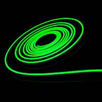 """Cветодиодный неон PROLUM Silicone 2835\120 IP68 12V 6x12 - SERIES """"FX"""" PRO, Зеленый"""