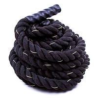 Канат для кросс–тренинга Battle Rope 9 м, d-3,8 см 82343-938