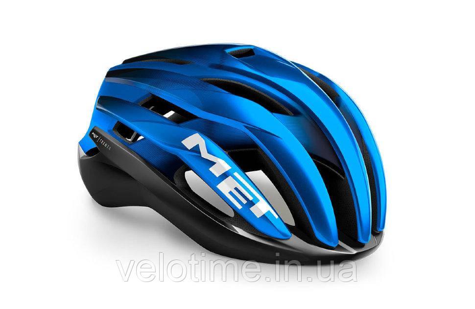Шлем Met TRENTA MIPS CE  (Black Blue Metallic | Matt Glossy S)