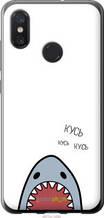 "Чехол на Xiaomi Mi8 Акула ""4870u-1499-2448"""