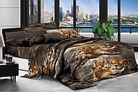 Евро комплект постельного белья 200*220 Бязь хлопок полиэстер (6085) Бюджетное постельное белье