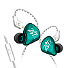 Наушники KZ ZSTX с микрофоном cyan, фото 6