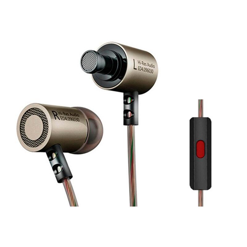 Навушники KZ ED4 з мікрофоном black