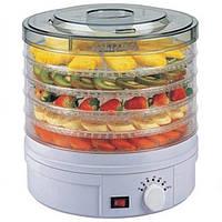 Електрична сушилка для фруктів и овочів DRY FIT 01 SMX електросушилка дегідратор, фото 1