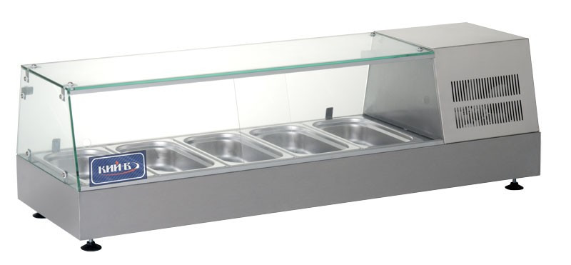 Витрина холодильная (суши кейс) КИЙ-В ВХН-Р-5-1225