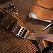 Рюкзак під рептилію шкіряний Vintage 20430 Коричневий, фото 5