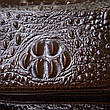 Рюкзак під рептилію шкіряний Vintage 20430 Коричневий, фото 6