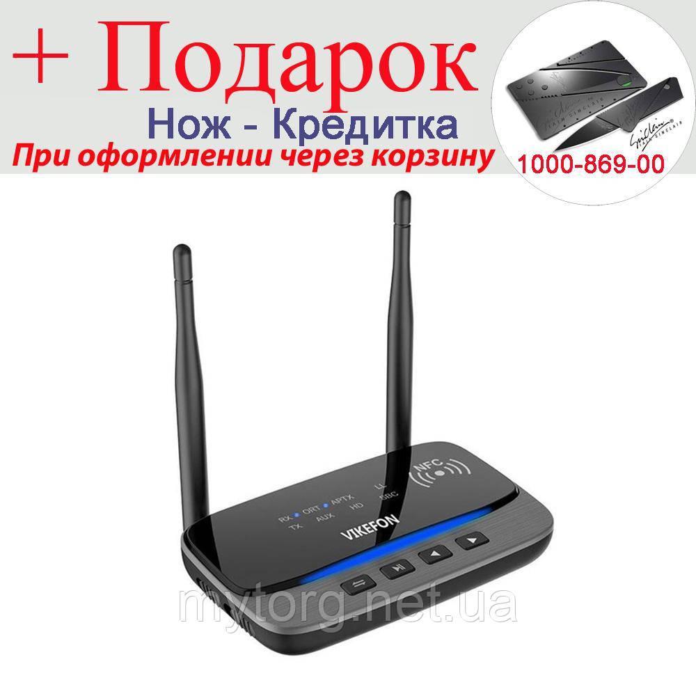 Аудио приемник/передатчик Vikefon BT-B21 Hi-Fi Bluetooth 5.0 80м.