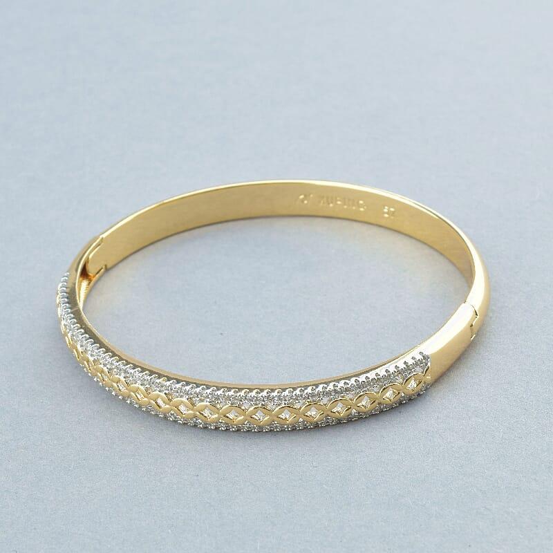 Браслет на руку медичне золото Xuping Jewelry Jewelry покриття виробу позолота і родій