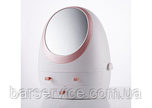 Органайзер для косметики з дзеркалом W-4 білий