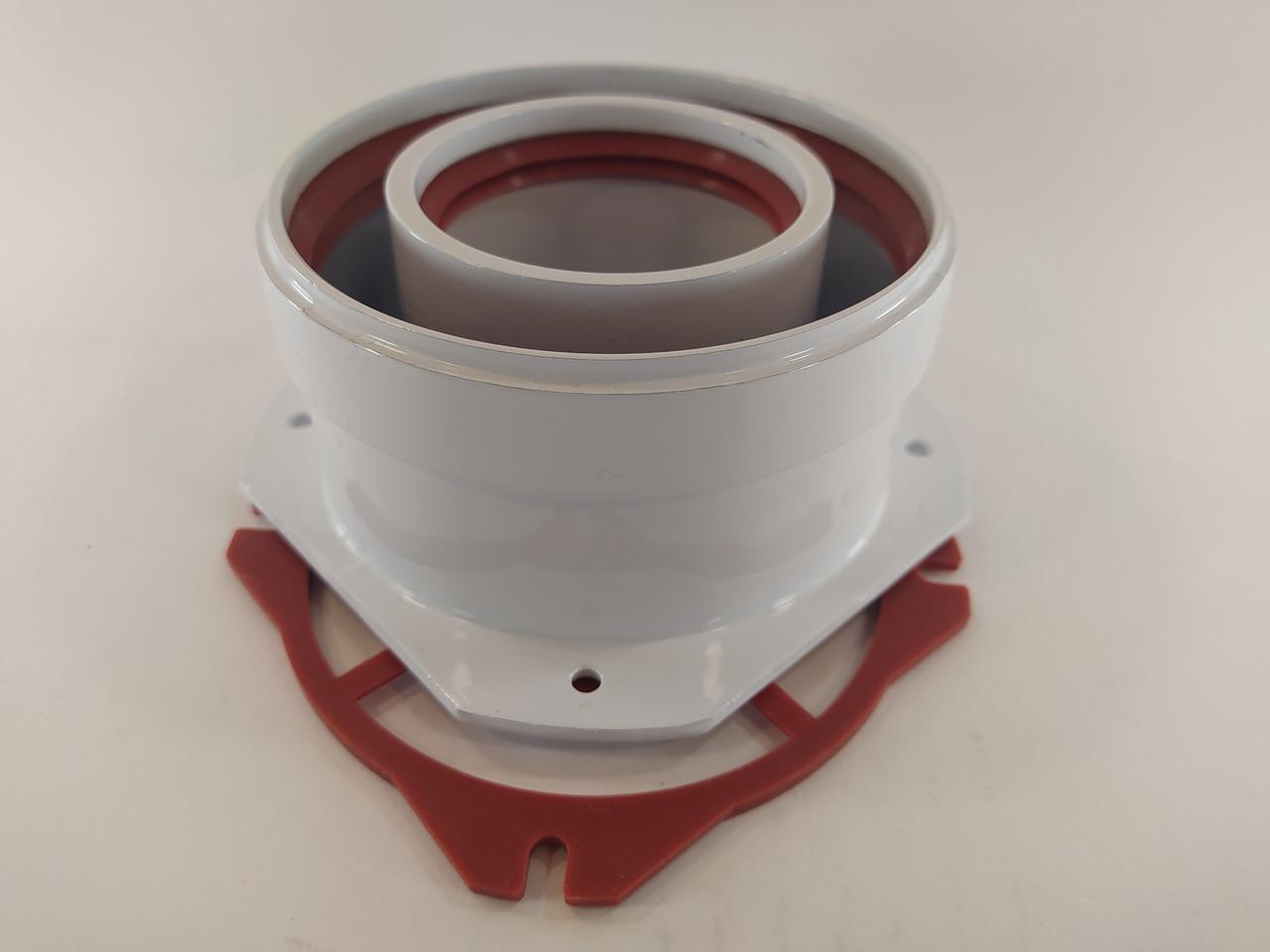 Адаптер 60/100 Immergas вертикальный фланцевый