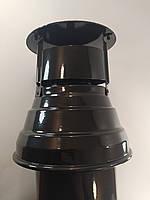Дымоход вертикальный коаксиальный 60/100 для газового котла, фото 1