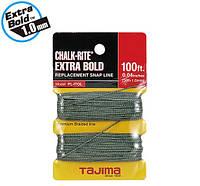 Запасной шнур разметочный 1мм*30м TAJIMA  Extra Bold PLITOL