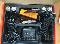 Парктроник TIGER PS-43 4 дат SLIM Silver d=18,8mm