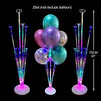 Подставка держатель светящаяся для воздушных шаров