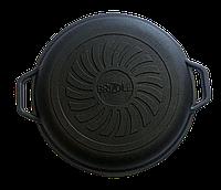 Кришка -сковорода чавунна Brizoll 24 см A240KS