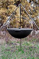 Казан Brizoll чугунный азиатский с крышкой 12л (KA12-1), фото 1