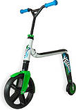Самокат Scoot And Ride Highway Ganster 2-in-1 White/Green/Blue (961516), фото 2