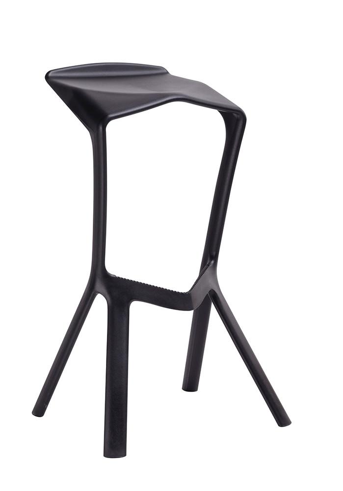 Табурет барный пластиковый COLT Onder Mebli, цвет черный 04