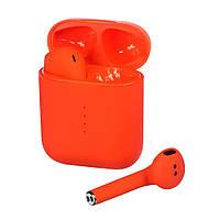 Беспроводные Bluetooth наушники V8 TWS Оранжевый