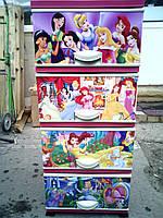 Комод пластиковый Принцессы 2 Elif