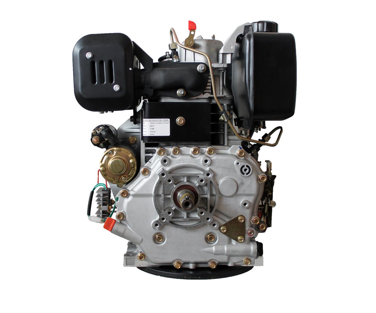 Двигатель Weima WM 195 FE 531cc, дизельный, 15 л.с., шпонка 25 мм НОВИНКА!!!