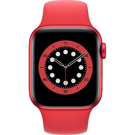 Силиконовый монобраслет Solo Loop Red для Apple Watch 38mm | 40mm Size L, фото 2