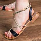 Женские босоножки Fashion Arrura 1640 38 размер 24,5 см Черный, фото 3