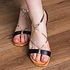 Женские босоножки Fashion Arrura 1640 38 размер 24,5 см Черный, фото 4