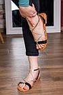 Женские босоножки Fashion Arrura 1640 38 размер 24,5 см Черный, фото 5