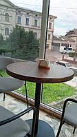 Стол кофейный, обеденный, диаметр 600-650мм, высота 750мм, доставка по Украине