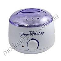 Воскоплав баночный Pro Wax 100 для воска в банке, в таблетках и в гранулах, 400 мл БЕЗ КРЫШКИ