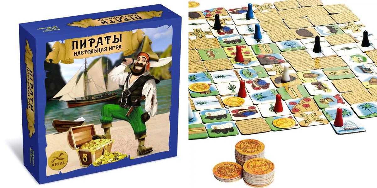 """Настільна гра """"Пірати"""" 20427"""