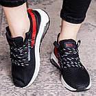 Женские кроссовки Fashion Ninja 1570 36 размер 23 см Черный, фото 2
