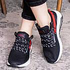 Женские кроссовки Fashion Ninja 1570 36 размер 23 см Черный, фото 3