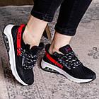 Женские кроссовки Fashion Ninja 1570 36 размер 23 см Черный, фото 4