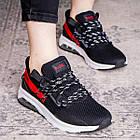 Женские кроссовки Fashion Ninja 1570 36 размер 23 см Черный, фото 5