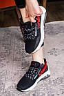 Женские кроссовки Fashion Ninja 1570 36 размер 23 см Черный, фото 6