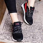 Женские кроссовки Fashion Ninja 1570 36 размер 23 см Черный, фото 7