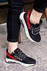 Женские кроссовки Fashion Ninja 1570 36 размер 23 см Черный, фото 8