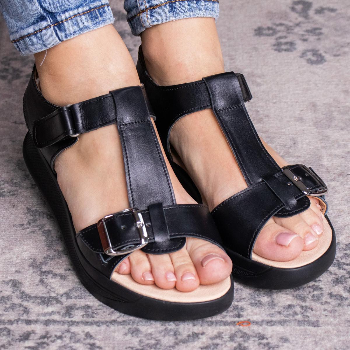 Жіночі сандалі Fashion Bruno 3027 36 розмір, 23,5 см Чорний