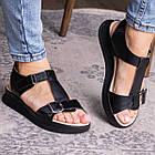 Жіночі сандалі Fashion Bruno 3027 36 розмір, 23,5 см Чорний, фото 2
