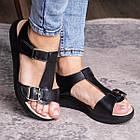 Жіночі сандалі Fashion Bruno 3027 36 розмір, 23,5 см Чорний, фото 3