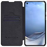 Защитный чехол-книжка Nillkin для Xiaomi Mi 11 Lite Qin leather case Black Черный, фото 5