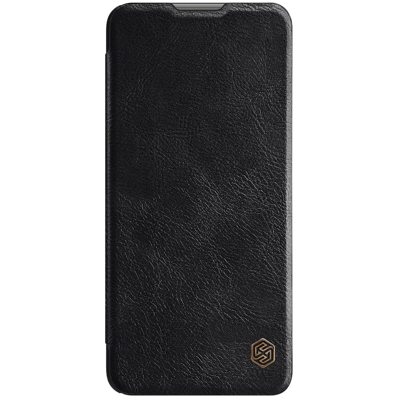 Защитный чехол-книжка Nillkin для Xiaomi Mi 11 Lite Qin leather case Black Черный