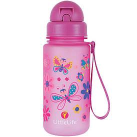 Пляшка для води дитяча Little Life Water Bottle 400ml butterfly