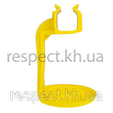 Каплеулавливатель (каплеуловлювач) на квадратну трубу жовтий.