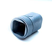 Муфта заглушка на квадратну трубу модель-1